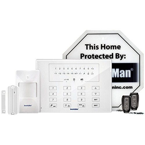 SecurityMan AirAlarmIIE Wireless Home Alarm System Smart Economy DIY Kit Home & Garden Improvement