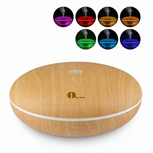 Aroma Diffuser, 1byone 350ml Essential Oil Diffusers for Aromatherapy,...