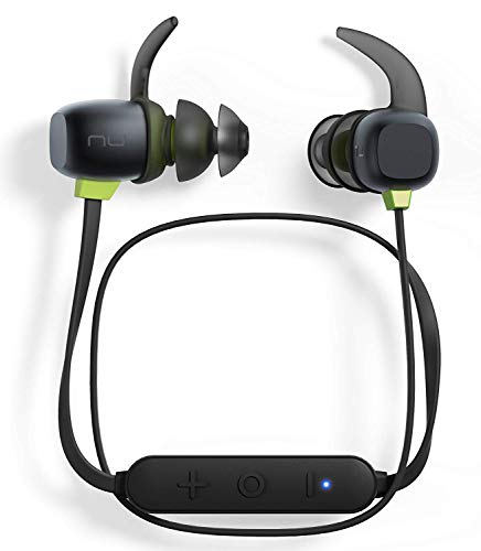 Optoma NuForce BE Sport4 Premium Wireless Sport earphones with mic and 10h battery, sweat proof, AAC + aptX, Quick Charge, Graphene drivers, compatible with Android and iPhone