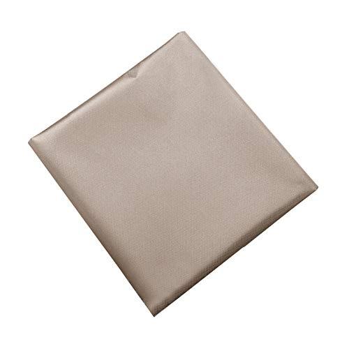 CALIDAKA 43''x39'' Faraday Fabric,EMF Protection Fabric,RFID Shielding Cloth Protection Conductive Fabric,Anti Radiation,Shielding Fabric Apply for Microwave, Card Bag Cloth, Electronic Products