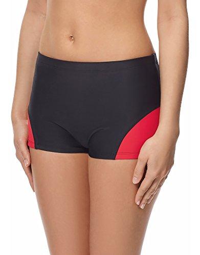 Merry Style Shorts Deportivos del Bikini Bañadores Ropa Mujer Modelo S1LL (Negro...