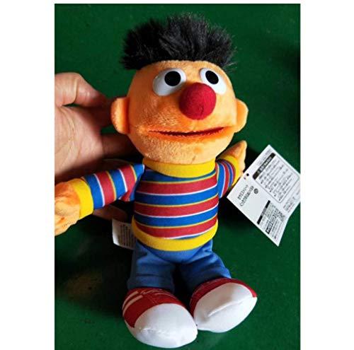 Xin Yao Store Plüschtiere Sesamstraße Elmo Keks Monster Großer Vogel Bert Ballerina Zoe Plüschpuppe 23 cm