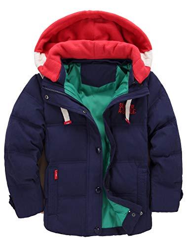 Odziezet Abrigo Invierno Bebés Niños Niñas de Plumas Abajo Chaqueta Nieve con Capucha Abrigos...