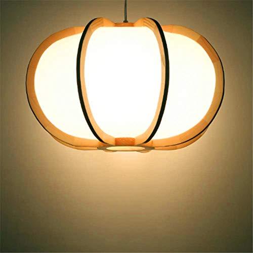 Iluminación de techo interior, Estilo japonés Colgando Linterna Washitsu Decoración Lámpara de madera Restaurante Restaurante Salón Salón Iluminación interior Luz de lámpara colgante de madera, Calorl