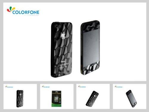 Unbekannt Haute qualité de Protecteur d'écran Protecteur d'écran Film Protecteur d'écran 3D Cube d'eau Apple iPhone 4 4S 3.5 'Cube d'eau Anti-éblouissement