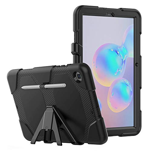Tech-Protect Survive - Funda protectora con función atril | Compatible con Samsung Galaxy Tab S6 Lite 10.4 P610/P615 | Negro
