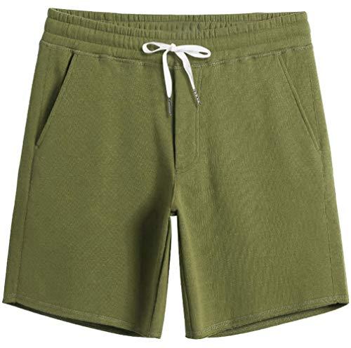 Fanient Pantaloncini da Pigiama da Uomo Pantaloncini da Notte Confortevoli con Tasche