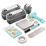 ImpressArt - Deluxe Metal Stamping Kit, Tools & Supplies for Metal Hand Stamping Craft Projects, DIY Jewelry Making & Keepsakes (Uppercase, Lowercase & Numbers)