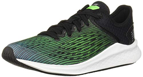New Balance Kid's Fresh Foam Fast V1 Running Shoe, Deep Ozone Blue with RGB Green & Black, 15W