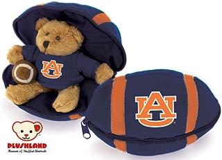 Auburn Tigers Hidden Plush Bear Football Toy