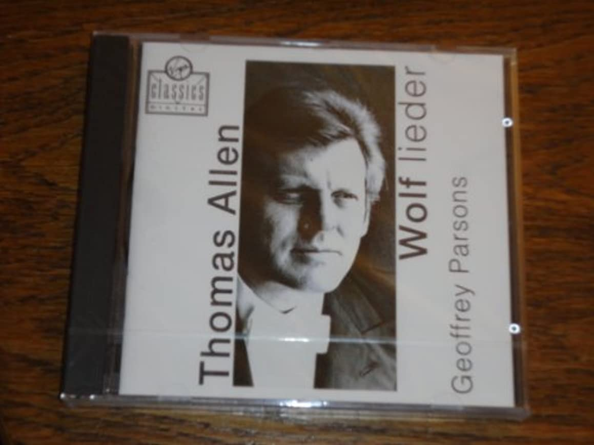 Hugo Wolf - Lieder - Thomas Allen Virgin