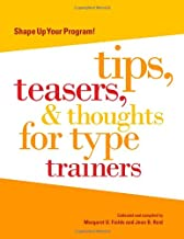 Shape Up Your Program: Tips, Teasers & Thoughts for Type Trainers
