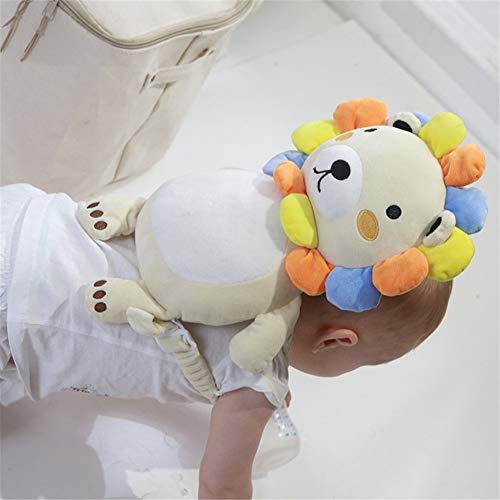 DEEYATA ベビーヘッドガード 赤ちゃん転倒防止リュック 赤ちゃん頭保護パッド 頭ガード 男 女 よちよち歩き 安全対策 出産祝い ベビー用品 ミツバチ