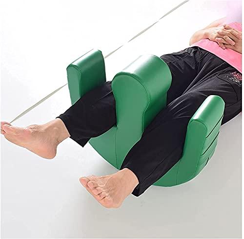 Almohadas con posicionador de piernas, dispositivo giratorio para pacientes postrados en cama, almohadilla de enfermería antiescaras, ayudas para discapacitados, dispositivo giratorio para pacientes