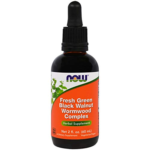 NOW Foods - Green Bla. Walnut Wormwood Cmp 2 fl oz by Now Foods