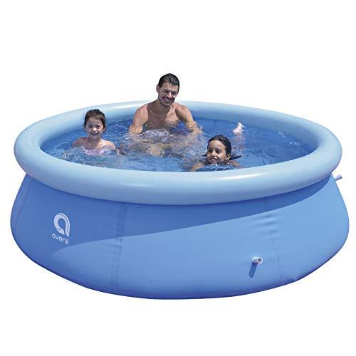 YXACETX Outdoor Swimming Pool Round Bracket Swimming Pool Large Children's Swimming Pool Inflatable Pool Swimming Pool Family Kids Water Play Fun Backyard Toy 300 * 76cm
