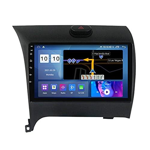 ADMLZQQ Navegación para Audio/Video de automóvil para KIA Cerato 2013-2017 Car Stereo Android 10 FM/WiFi/Control del Volante/Bluetooth/cámara de visión Trasera,M200s
