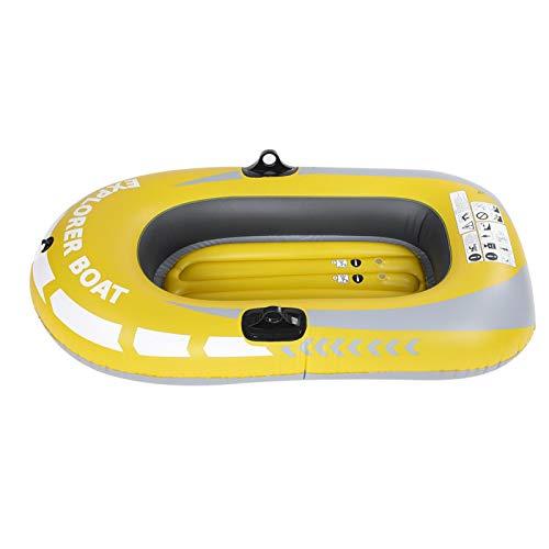 Voluxe Canoa Inflable, adopta Material de PVC, Kayak Inflable para 1 Persona, para entusiastas de los Deportes acuáticos, Pesca, Pesca, Deriva
