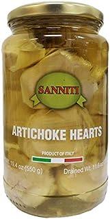Sanniti Artichoke Hearts, 19.4 Ounce Jar