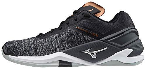 Mizuno Unisex Stealth Neo Handballschuh, Black/White//Ebony, 44 EU