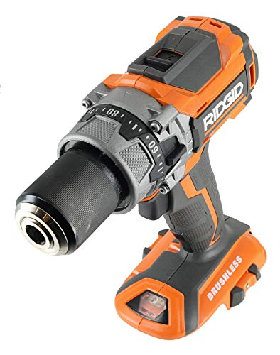 Ridgid R86116 18V Lithium Ion Cordless Brushless Compact Hammer Drill