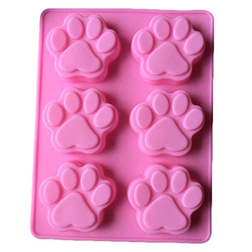 Siliconen mal Animal Cat Claws bakgereedschap, siliconen cake versieren chocolade keuken koken cake tools voedsel dessert maken