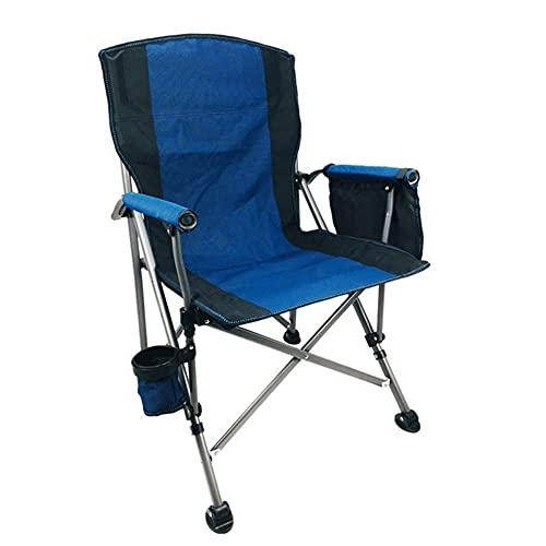 N/Z Living Equipment Klappbarer Campingstuhl Tragbarer Leichter Klappcampingstuhl für Gartencampingreisen 1