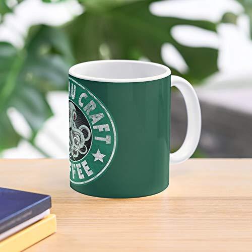 5TheWay Coffee Mug Cthulhu Craft Best 11 oz Kaffeebecher - Nespresso Tassen Kaffee Motive