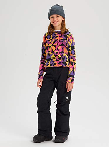 Burton Girls' Elite Cargo Snow Pant, True Black W20, Large