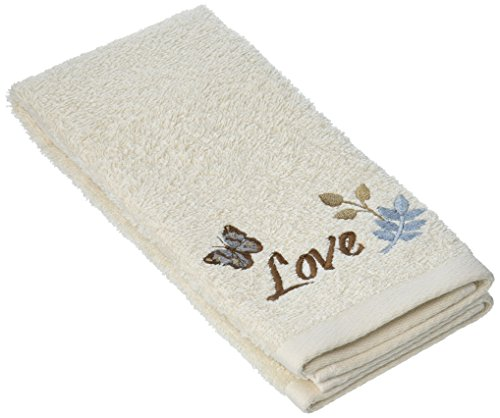 SKL Home by Saturday Knight Ltd. Faith Tip Towel, Ivory