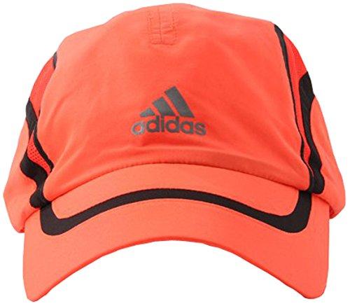 adidas - Gorra De Running Unisex Climacool Run, Color Rojo, Talla única