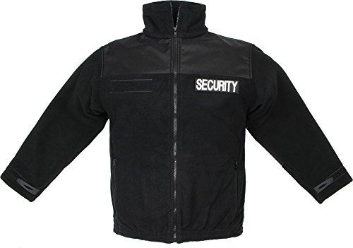 normani Security Fleecejacke mit Rückenpatch und verstärkten Ellenbogen + Schultern Größe 3XL