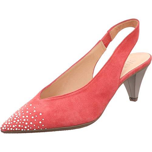 Hispanitas Malta-5k - Sandalias para mujer, color coral, color Rosa, talla 38.5 EU