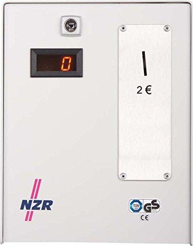 NZR Zeit-Münz-Zähler elektr. ZMZ 0205 2 Euro Münzautomat 4048652005130