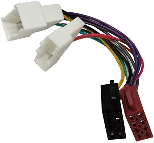 AERZETIX: Cable adaptador enchufe ISO para radio de coche C2005
