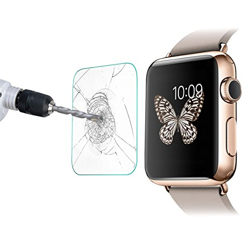 PROTECTOR DE CRISTAL TEMPLADO PARA APPLE WATCH 38MM TEMPERED GLASS IWATCH