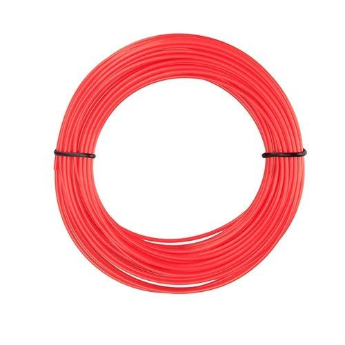without KF-3D, 3D Pen Filament PLA 1.75mm 5m Plastic Rubber Printing Material For 3D Printer Pen Filament 20 colors (Color : Red)