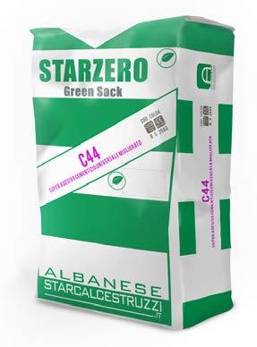 STAR.ZERO C44 - COLLA ADESIVO CEMENTIZIO NATURALE MIGLIORATO PER PIASTRELLE, in polvere per gres, ceramiche, pietre naturali stabili, sottofondi anche irregolari, antigelo (grigio 10Kg)