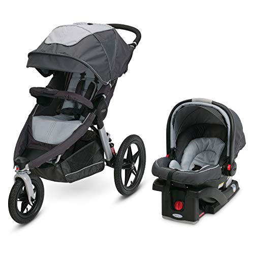 Graco Relay Jogging Stroller Travel System | Includes Relay...