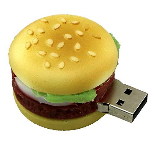 U Disk Hamburger Food USB-Stick Kreative Sushi/Brot/Pizza USB-Stick 4 GB 8 GB 16 GB 32 g Memory Stick Geschenk Spielzeug-Laufwerk 4 GB A