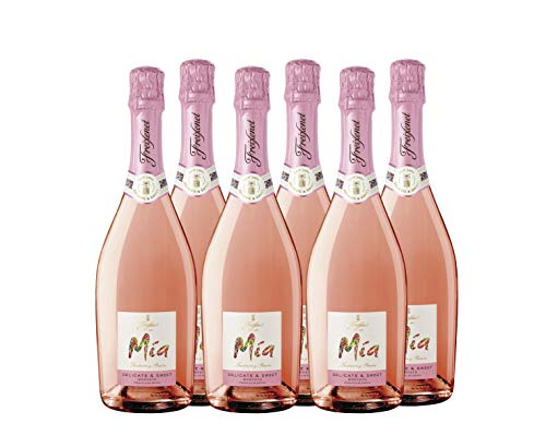 Mia Pink Moscato (Rosé) - 6 Botellas de 750 ml - Total: 4500 ml