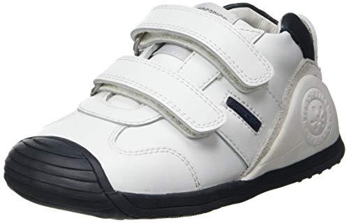 Biomecanics 151157, Zapatillas, Blanco Y Azul (Super Soft), 22 EU