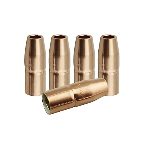 WeldingCity 5 Gas Nozzles 200-258 200258 1/2