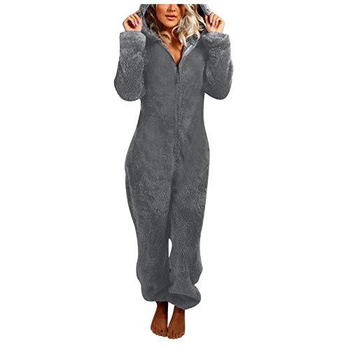 Adultos Pijamas de Animales Disfraz de Cosplay Animales Ropa de Dormir Disfraces de Halloween y Carnaval Monos