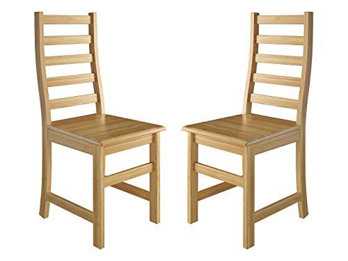 Erst-Holz® Küchenstuhl Massivholzstuhl Esszimmerstuhl Kiefer Stühle 90.71-21-D