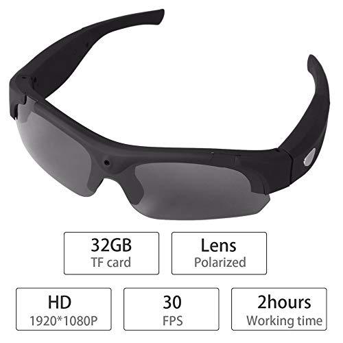Gafas De Sol, Cámara De La Cámara HD 1080P Gafas De Sol Video Gafas De Deporte con La Protección UV De Conducción Gafas De Sol Lentes De Deporte Ciclismo
