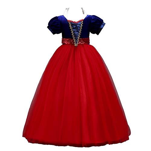 JTSYUXN Weihnachten Kleid Cosplay Prinzessin Kostüm,Netzkleid Festzug Geburtstag...