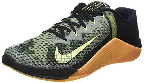 Nike Herren Metcon 6 Straßen-Laufschuh, Black/Limelight-Lime, 41 EU