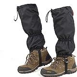 Lisansang - Polainas de ciclismo impermeables para senderismo, polainas duraderas y transpirables para piernas altas, para niños, para montañas, senderismo, esquí, escalada, caza para invierno