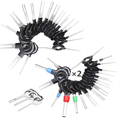 59 Pcs KFZ Kabel Stecker Ausbau ...